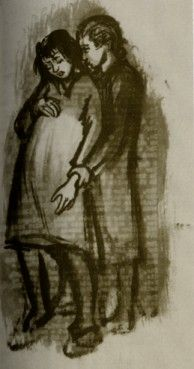 """"""" Drawing by Ravensbrück prisoner Helen Ernst. Jewish History, Jewish Art, Women In History, World History, Camping Set Up, A Discovery Of Witches, Sad Art, Woman Drawing, History"""