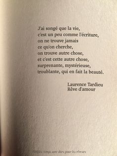 Autre chose. Quotes Inspiration.