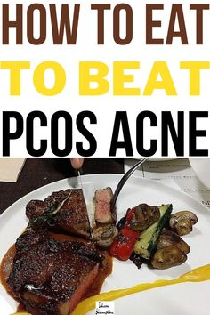 With so many diets trending you may wonder what's the best way to eat to get rid of PCOS acne naturally. But what if you have hormonal issues such as PCOS? Will the diet work or will it leave you with more issues to battle? The answer might surprise you. #hormonalacne #pcosacne #acnediet Healthy Foods To Eat, Healthy Fats, Get Healthy, Healthy Eating, Healthy Recipes, Protein Diets, No Carb Diets, Acne Detox, Acne Solutions