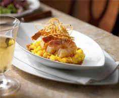 Risotto ai Gamberetti from Portofino Restaurant. #royalcaribbean