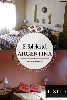 El Sol Hostel in Humahuaca, an ancient city of colonial times in Argentina