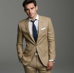 Sand Carducci Slim Fit Suit | Wedding suits | Pinterest | Fit ...