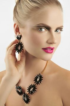 Pink love lips spring-summer '14 ss2014 Makeup trends  Makeup & hairstyle by Gustavo René Bortolotti