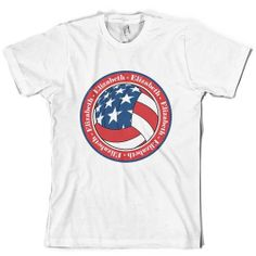 Patriotic Personalized Volleyball Shirt