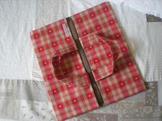 sac à tarte rouge esprit chalet : Cuisine et service de table par nany-made