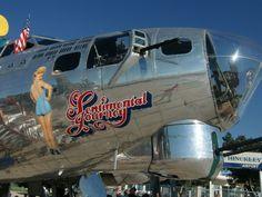 Boeing B-17 at the Ogden Airport, Ogden, Utah