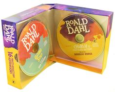 Roald Dahl Phizz Whizzing 16 Audio Book CD MP3 Children Collection Box Set
