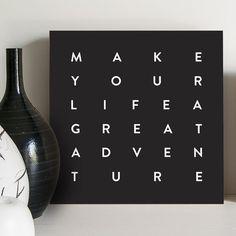 Quadro - Great adventure - Decohouse