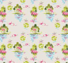 Flamingo Dusk from Kingdon Home Wallpapers