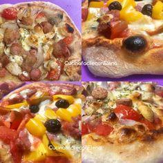 Pizza che lievita in frigo senza impasto Focaccia Pizza, No Knead Bread, Mani, Ciabatta, Antipasto, Pizza Dough, Hawaiian Pizza, Finger Foods, Vegetable Pizza