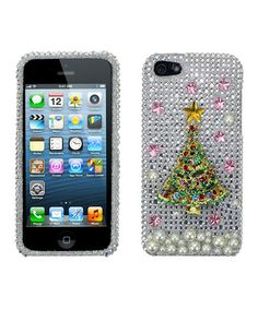 Take a look at this Crystal Christmas Tree Case for iPhone 5 by Atomic9 on #zulily today!