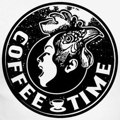 Tonony.com | LATTE KAFFEE PAUSE GESCHENKIDEE T-SHIRT   - Männer Baseballshirt langarm  - Aber auch andere coole Prints für Damen, Herren, Kinder und Babys auf zahlreichen verschiedenen Produkten.   T-SHIRT > SCHREIENDER MENSCHEN MIT EINEM HAHNENKOPF, MIT DEM TEXT COFFEE TIME. ES GIBT KAFFEE UND KUCHEN, DANN KANN DER KAFFEEKLATSCH MIT DEM PERFEKTEN T-SHIRT BEGINNEN. SCHWARZ T-SHIRT