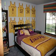 lakers bedroom