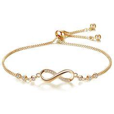 6ed57595610 Buy Trendy Silver Color New 8 Shape Geometric Adjustable Charm Bracelets  & Bangles for Women