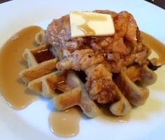 Baked Paleo Chicken and Waffles : The Not So Desperate Housewife