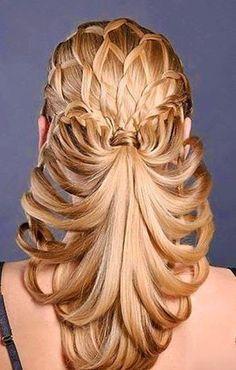Gorgeous unique Braids!  #braids #hairstyles