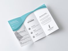 Business Trifold Brochure  Letter  Shops Business And Creative