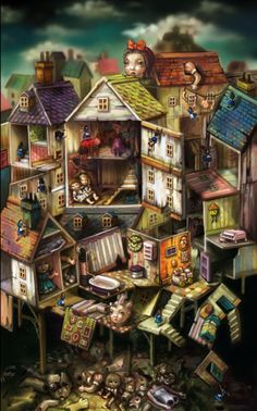 Dollhouse by Spicy Horse Art