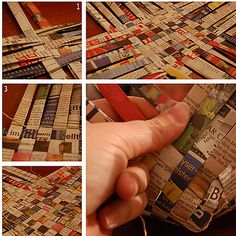 Mini Basket | 35 New Uses For Old Newspapers And Magazines