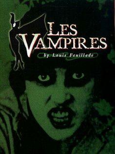 #0004 – Os Vampiros (1915) - Um dos filmes que representam o começo da existência do cinema em sua forma comercial. Trata-se de uma série de 10 episódios que contam a estória de uma gangue de ladrões e assassinos que provocam o caos em Paris.
