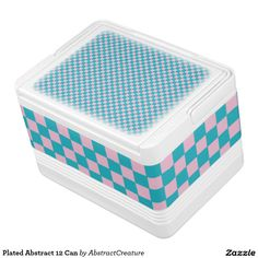 $34.95 Plated Abstract 12 Can Igloo Drink Cooler