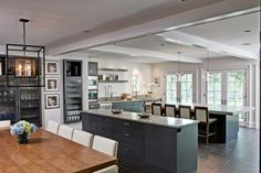 kitchen | built-in cabinets