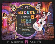 Coco Invitation Coco Birthday Party Disney Pixar Coco