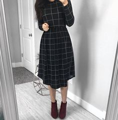 Chloe Dress - Multiple Color Options — The Darling Style Jw Fashion, Modest Fashion, Hijab Fashion, Korean Fashion, Fashion Dresses, Apostolic Fashion, Style Fashion, Modest Outfits, Summer Outfits