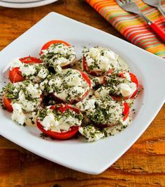 Summer Tomato Salad with Goat Cheese