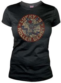 Lucky 13 Die Pretty girls tee
