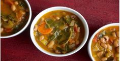 Sweet Potato, Collard and Black-Eyed Pea Soup