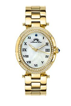 Porsamo Bleu Women's Watch Deal! Contrast our cost with the MSRP!  WATCHMINT is the main approved re-merchant of Porsamo Bleu watches on Amazon around the world - visit our store at  31 mm x 42 mm case estimate, 8 mm case thickness; Champagne stainless steel case and wrist trinket; Carved mother of pearl dial with Roman numerals  You can look here and buy.
