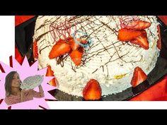 Torta Soffice con le Fragole - Senza Glutine - YouTube