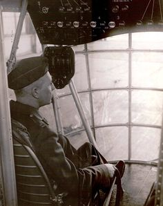 Inside the Cockpit of the USS Akron.