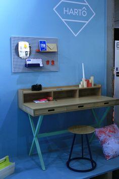 Le mobilier Hartô au salon Maison & Objet Paris - janvier 2014 via Silence on décore