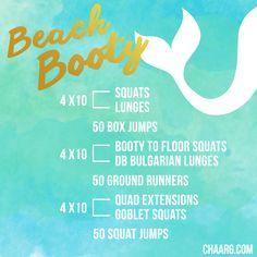 BEACH BOOTY // CHAARG.COM