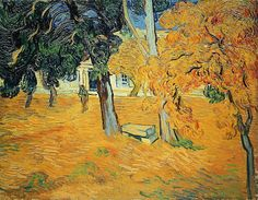 The Garden of Saint-Paul Hospital. Vincent van Gogh