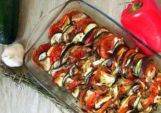 L'anecdote : Tous les légumes d'une bonne ratatouille dans le frigo mais envie d'une recette de saison qui change un peu ? J'ai pensé au tian de légumes provençaux. Cuits lo…