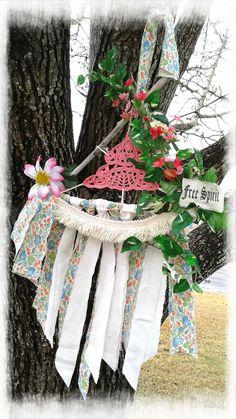 https://flic.kr/p/DMXZ5c | Dreamcatcher, wall hanging, pink, doily, driftwood, natural, doily, jazzie menagerie | Dreamcatcher, wall hanging, pink, doily, driftwood, natural, doily, jazzie menagerie