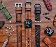 Alligator apple watch band and crocodile apple watch band strap for sale. all our apple watch series 4 bands are handcrafted by craftsmen. Apple Watch Bands Mens, Apple Watch バンド, Ice Watch, Apple Band, Apple Watch Iphone, Apple Watch Leather Strap, Leather Watch Bands, Apple Watch Straps, Crea Cuir