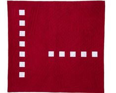 Some of us have been working in the Modern Quilt aesthetic for decades. I like this Bold quilt pattern by EschHouse Quilts. Backing A Quilt, Quilt Border, Quilt Blocks, Quilting Tips, Quilting Designs, Modern Quilting, Gingham Quilt, Red And White Quilts, Red Art