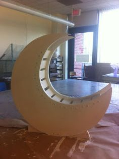 My tutorial for the DIY Moon Prop I made. Total cost less than $30 (without the ridiculously expensive paint I bought to finish it).  www.ym-photography.com