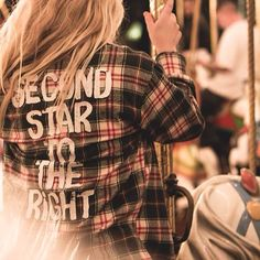 """Order your Cake x DB """"Second Star"""" flannel tonight at midnight EST! Limited quantities available! ✨ http://cakeworthystore.com ✨ @thedisneybound @cakeworthy #disney #disneybound #fashion #grunge #peterpan #neverland"""