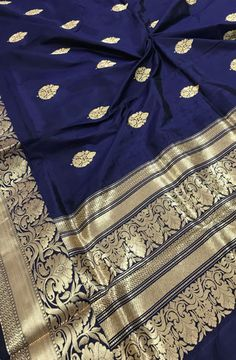 Shop online for Blue Handloom Banarasi Katan Silk Saree Phulkari Saree, Kanjivaram Sarees, Formal Saree, Saree Shopping, Soft Silk Sarees, Elegant Saree, Traditional Sarees, Saree Dress, Saree Styles