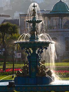 Princess Gardens Victorian fountain.