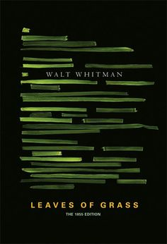 The literal representation of leaves of grass looking like a paragraph in the book is genius. The colors stand out so they can be seen, but not too much to where they are hard to look at. The typography throughout is balanced and embedded just right to keep people looking.
