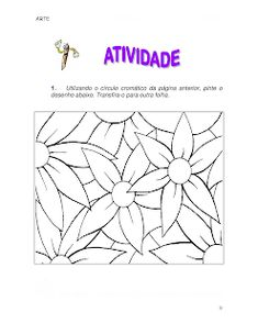 40 ATIVIDADES DE ARTE 8° ANO EXERCÍCIOS (IMAGENS) PARA IMPRIMIR - PORTAL ESCOLA Clip Art, Letter E Activities, Visual Art Lessons, Art Activities For Kids, Cleaning Lists, Art Classroom, Artists, Pictures