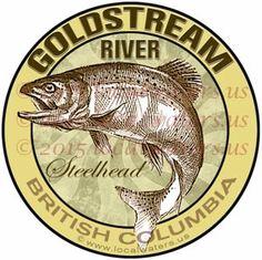 Margaree River Sticker Atlantic Salmon Decal Nova Scotia Canada - Decals for boats canada