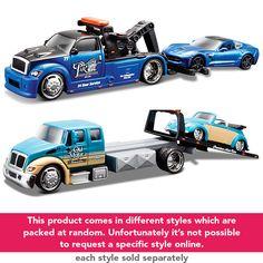 Maisto Die-cast Elite Vehicle Tow Transporter and Car   Toys R Us Australia