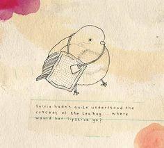 Tea bird: so sweet & clever